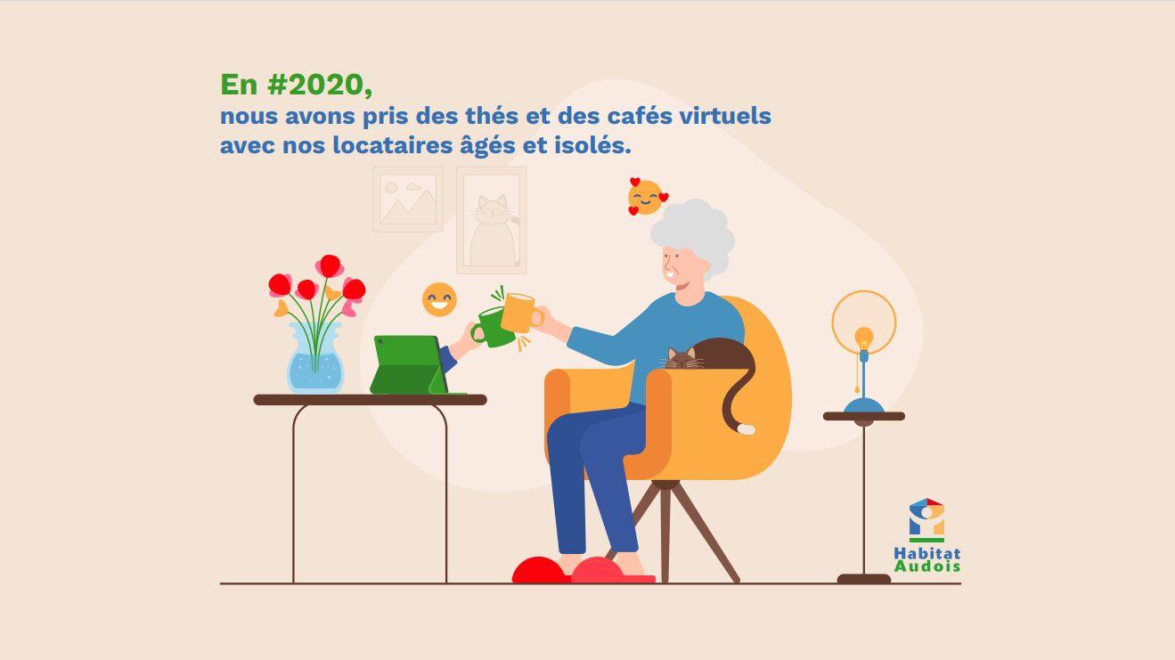Habitat Audois - Positivons 2020 : La #SOLIDARITÉ