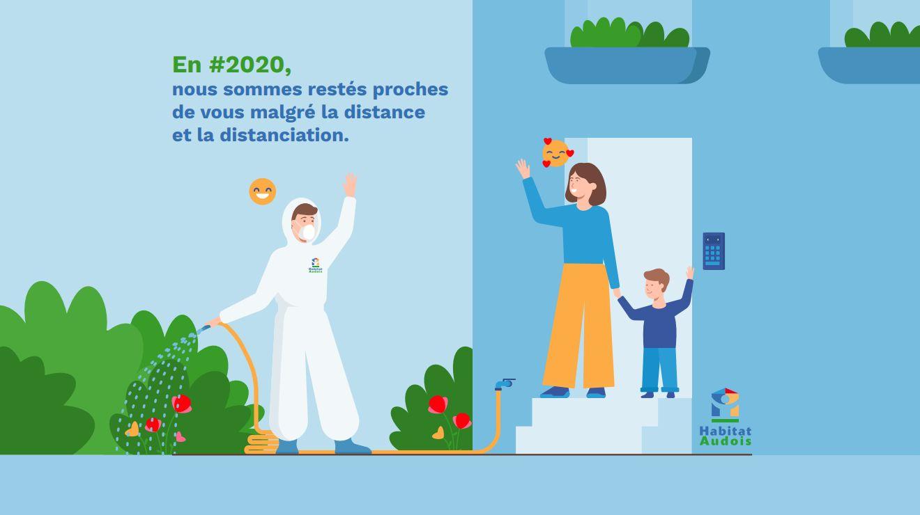 Habitat Audois - Positivons 2020 : La PROXIMITÉ