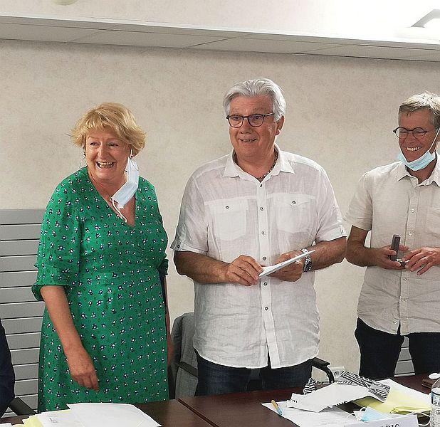 Robert Alric remercié par les élus lors de son dernier conseil d'administration