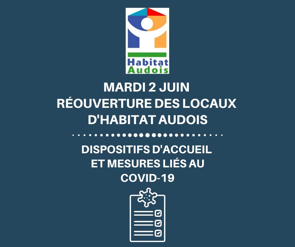 mesures Habitat Audois réouverture 2 juin