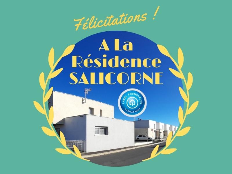 Label Promotelec pour la résidence Salicorne d'Habitat Audois